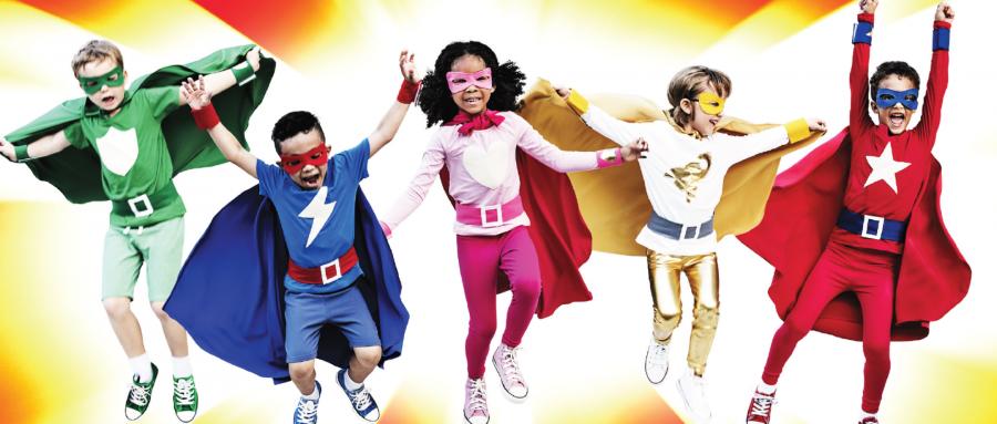 Shire Hall Superhero week!