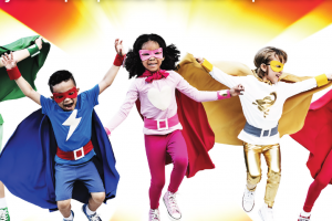 Superheroes Summer Holiday!