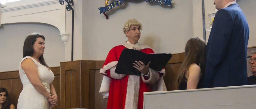 Confetti in the Courtroom!